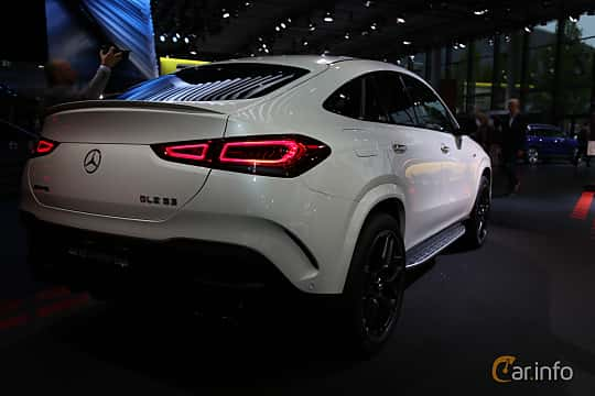 Back/Side of Mercedes-Benz AMG GLE 53 4MATIC+ Coupé  9G-Tronic, 435ps, 2020 at IAA 2019