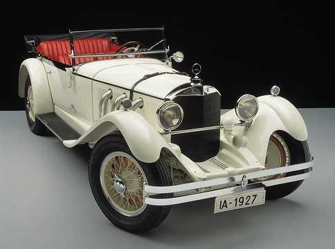 Front/Side  of Mercedes-Benz 680S Tourer  Manual, 1927