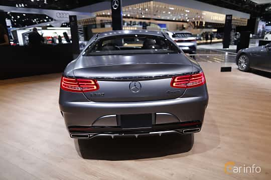 Bak av Mercedes-Benz S 500 4MATIC Coupé 4.6 V8 4MATIC 7G-Tronic Plus, 455ps, 2017 på North American International Auto Show 2017