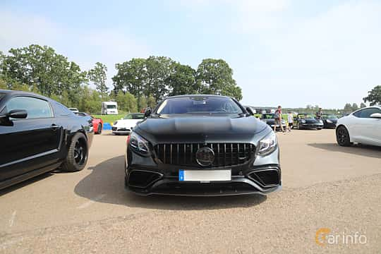 Front  of Mercedes-Benz AMG S 63 4MATIC+ Coupé  , 612ps, 2018 at Autoropa Racing day Knutstorp 2019