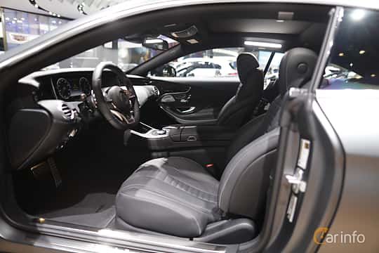 Interior of Mercedes-Benz S 500 4MATIC Coupé 4.6 V8 4MATIC 7G-Tronic Plus, 455ps, 2017 at North American International Auto Show 2017