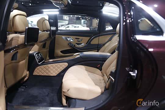 Mercedes benz s klass for Mercedes benz maybach interior