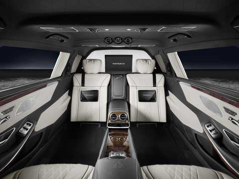 Interior of Mercedes-Benz Maybach S 600 Pullman  7G-Tronic Plus, 530hp, 2017