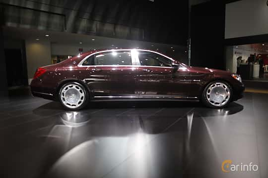 Sida av Mercedes-Benz Maybach S 500 4Matic 4.6 V8 4MATIC 7G-Tronic Plus, 455ps, 2017 på North American International Auto Show 2017