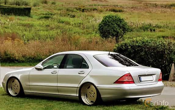 Bak/Sida av Mercedes-Benz S 350  5G-Tronic, 245ps, 2004