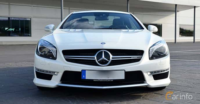 Front  of Mercedes-Benz SL 63 AMG 5.5 V8 , 585ps, 2015