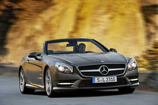 Front/Side  of Mercedes-Benz SL 500  7G-Tronic Plus, 435hp, 2013