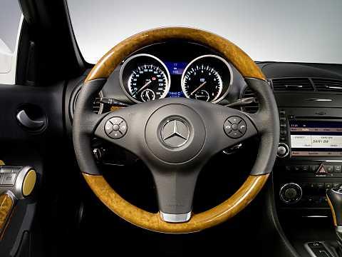 Interior of Mercedes-Benz SLK 350  Manual, 305hp, 2008