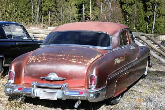 Bak/Sida av Mercury Eight 1CM Sedan 4.2 V8 Manual, 1951 på Uddevalla Veteranbilsmarknad Backamo, Ljungsk 2019