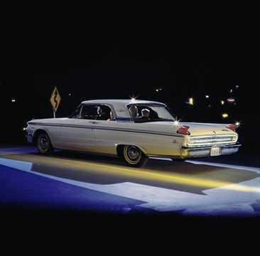 Back/Side of Mercury Meteor 2-door Hardtop 1963