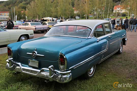 Back/Side of Mercury Montclair Sedan 4.8 V8 Automatic, 188ps, 1955 at Kungälvs Kulturhistoriska Fordonsvänner  2019 Torsdag vecka 35