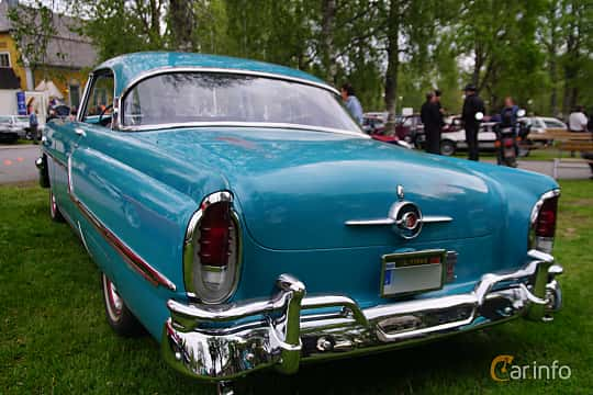Bak/Sida av Mercury Monterey 2-door Hardtop 4.8 V8 Automatic, 188ps, 1955 på Onsdagsträffar på Gammlia Umeå 2019 vecka 23