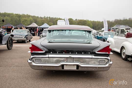 Back of Mercury Monterey 2-door Sedan 6.3 V8 Automatic, 284ps, 1959 at Lucys motorfest 2019