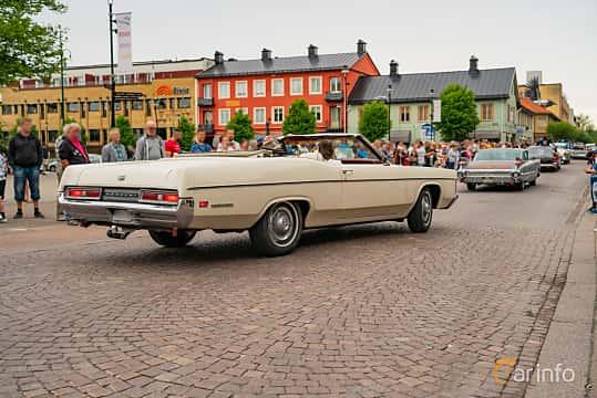 Back/Side of Mercury Monterey Convertible 6.4 V8 Automatic, 269ps, 1970 at Nässjö Cruising 2019
