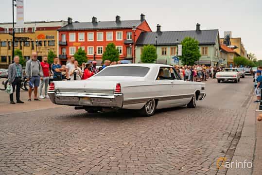 Back/Side of Mercury Park Lane 2-door Hardtop 6.7 V8 Automatic, 334ps, 1966 at Nässjö Cruising 2019