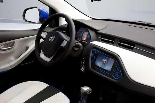 Interior of MG EV Electric CVT, 71hp, 2014