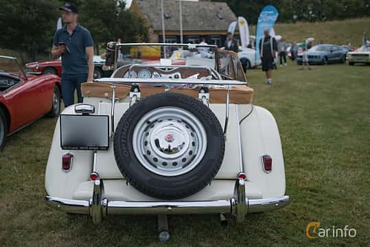 Back of MG TD Midget 1.25 Manual, 57ps, 1952 at Thulinträffen 2017
