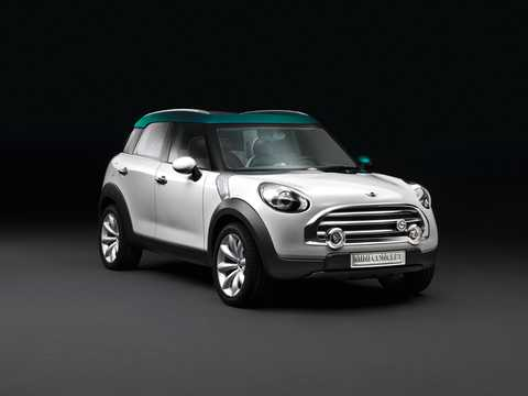 Front/Side  of MINI Crossover Concept Concept, 2008