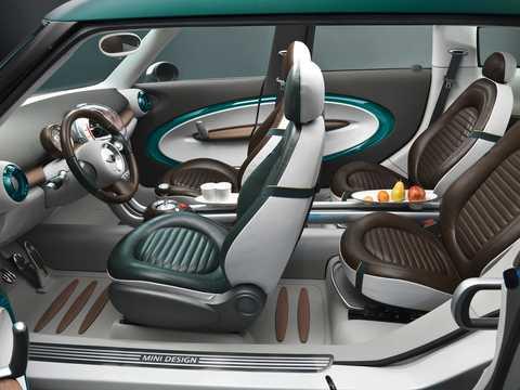 Interior of MINI Crossover Concept Concept, 2008