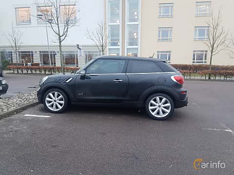 Sida av MINI Cooper S ALL4 Paceman 1.6 ALL4 Manual, 184ps, 2013