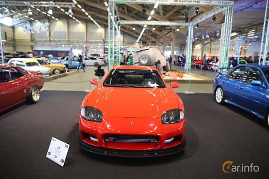 Fram av Mitsubishi 3000 GT 3.0 V6 4WD Manual, 286ps, 2000 på Bilsport Performance & Custom Motor Show 2019