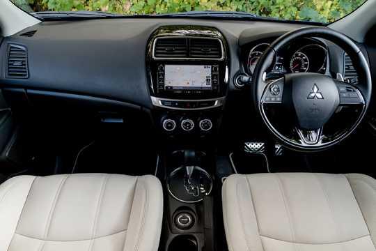 Interior of Mitsubishi ASX 2017