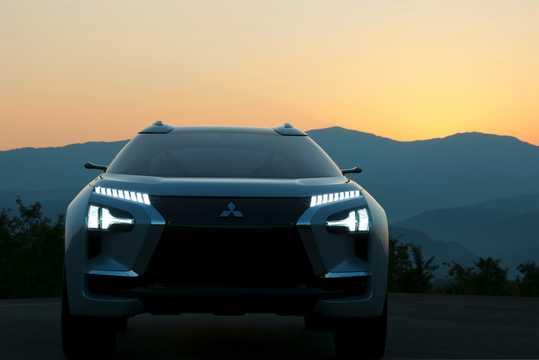 Front  of Mitsubishi e-Evolution Concept Concept, 2017