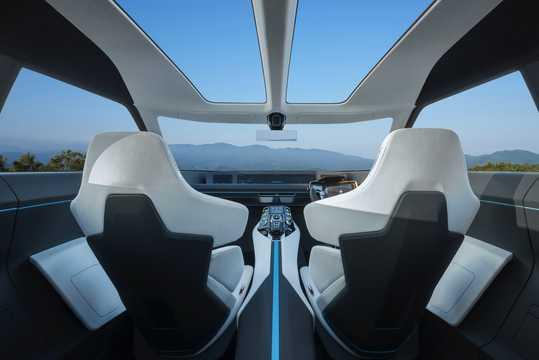 Interior of Mitsubishi e-Evolution Concept Concept, 2017