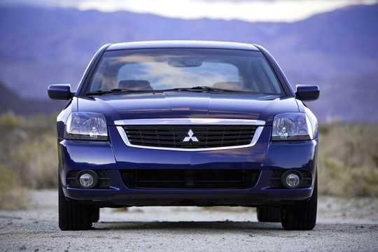 Front  of Mitsubishi Galant 2009