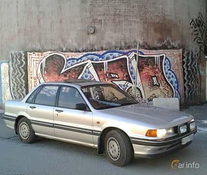 Front/Side  of Mitsubishi Galant 1988