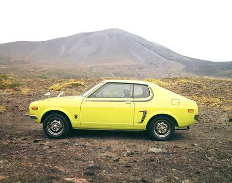 Side  of Mitsubishi Galant FTO 1971