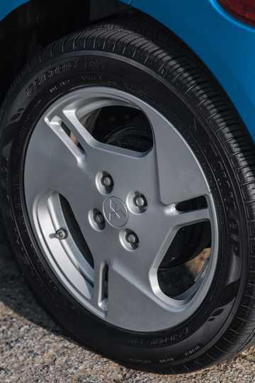 Close-up of Mitsubishi i 1st Generation Facelift