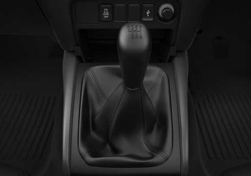 Närbild av Mitsubishi L200 Double Cab 2019