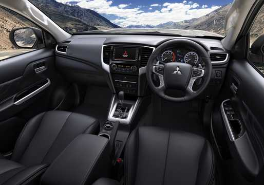 Interior of Mitsubishi L200 Double Cab 2019