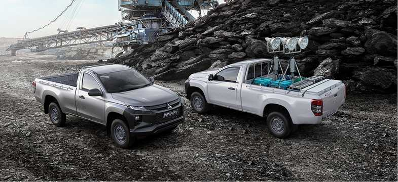 Front/Side  of Mitsubishi L200 Single Cab 2019