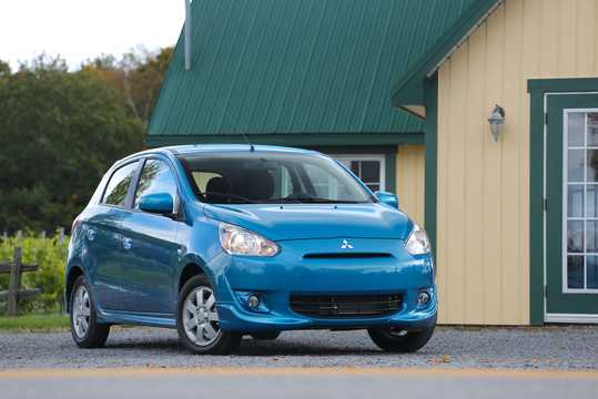 Front/Side  of Mitsubishi Mirage 2014