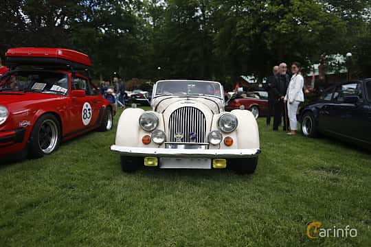 Front  of Morgan 4/4 1600 2-Seater 1.6 Manual, 97ps, 1983 at Sofiero Classic 2019