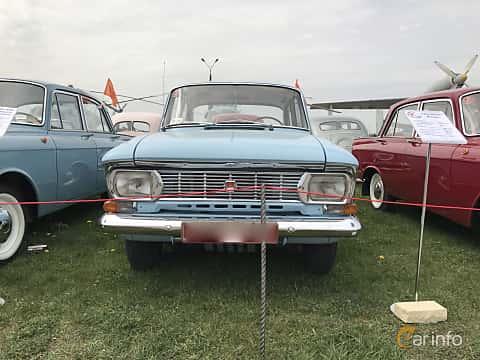 Front  of Moskvitch 408 Sedan 1.4 Manual, 50ps, 1972 at Old Car Land no.1 2017