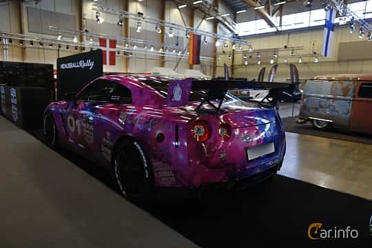 Bak/Sida av Nissan GT-R 3.8 V6 4x4 DCT, 485ps, 2010 på Bilsport Performance & Custom Motor Show 2019
