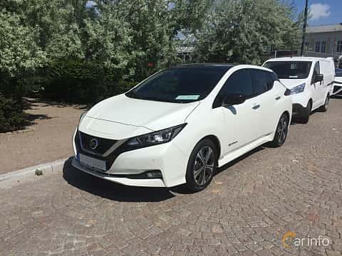 Fram/Sida av Nissan Leaf 40 kWh Single Speed, 149ps, 2018