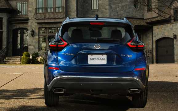 Back of Nissan Murano 2019