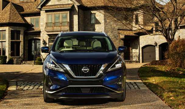 Fram av Nissan Murano 2019