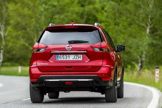 Bak/Sida av Nissan X-Trail 2017