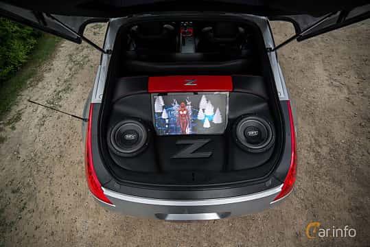 Närbild av Nissan 350Z 3.5 V6 Manual, 313ps, 2007