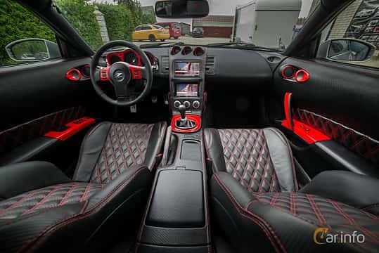 Interiör av Nissan 350Z 3.5 V6 Manual, 313ps, 2007