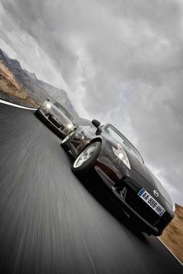 Front/Side  of Nissan 370Z Roadster 2010