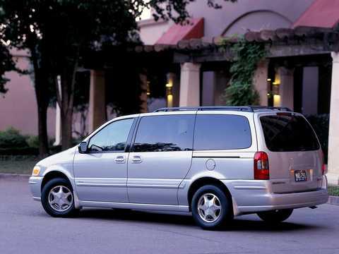 Back/Side of Oldsmobile Silhouette 1997