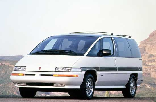 Front/Side  of Oldsmobile Silhouette 1994