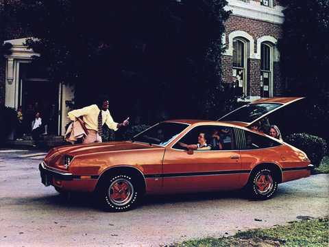 Side  of Oldsmobile Starfire 1977