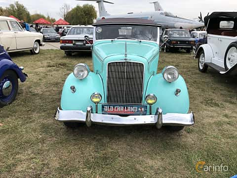 Front  of Opel 2.0 Litre Cabriolet 1.9 Manual, 36ps, 1934 at Old Car Land no.2 2019